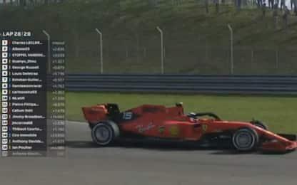 GP Cina, vince Leclerc. Immobile 17° al debutto