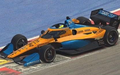 IndyCar iRacing su Sky: sabato c'è anche Norris
