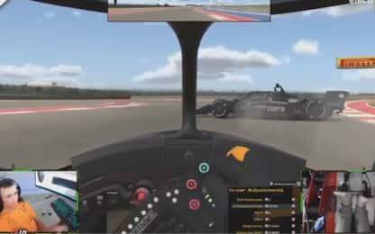 IndyCar, Norris: vittoria in 4 mosse. VIDEO