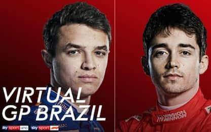 F1 virtuale in Brasile, gara alle 19: il programma