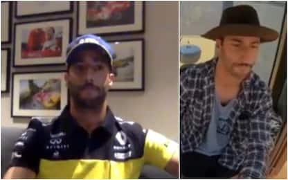 """Ricciardo: """"Ho un piano B, il trattore"""". VIDEO"""