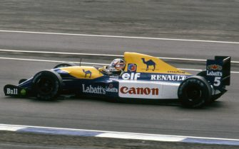 Williams Renault FW14B Nigel Mansell, 1992 British Grand Prix, Silverstone. Creator: Unknown. (Photo by National Motor Museum/Heritage Images via Getty Images)