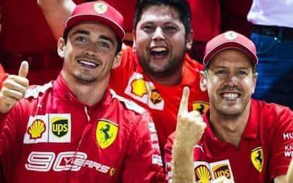 """Leclerc: """"Con Seb c'è stato sempre rispetto"""""""