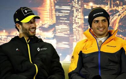 Ricciardo alla McLaren nel 2021: sostituirà Sainz