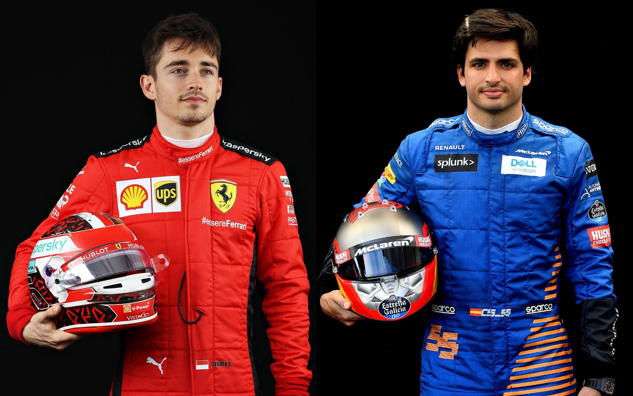 Sainz E Leclerc La Coppia Di Piloti Ferrari Nel 2021 Sky Sport