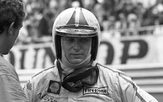 Chris Amon, Ferrari 312, Grand Prix of Monaco, Circuit de Monaco, 18 May 1969. (Photo by Bernard Cahier/Getty Images)