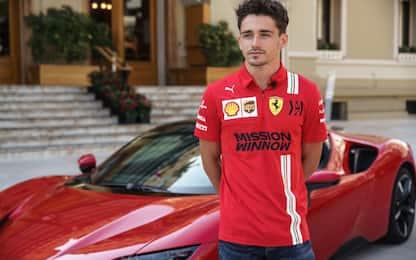 """Leclerc: """"Attore? Ho guidato, quello che so fare"""""""