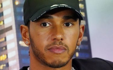 epa08288068 Lewis Hamilton of Great Britain and Mercedes GP attends a press conference ahead of the Formula 1 Australian Grand Prix 2020 at the the Albert Park Circuit in Melbourne, Australia, 12 March 2020.  EPA/SCOTT BARBOUR EDITORIAL USE ONLY AUSTRALIA AND NEW ZEALAND OUT