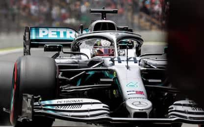 Mercedes, martedì in pista a Silverstone per test