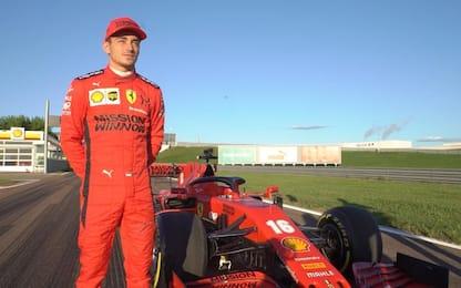 """Leclerc: """"Strano e divertente guidare in strada"""""""