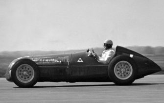 1950 Alfa Romeo 158, Reg Parnell. Creator: Unknown. (Photo by National Motor Museum/Heritage Images via Getty Images)