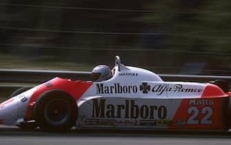 Mario Andretti, Alfa Romeo 179C, Grand Prix of San Marino, Imola, 03 May 1981. (Photo by Bernard Cahier/Getty Images)