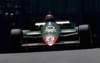 Eddie Cheever, Alfa Romeo 185T, Grand Prix of Monaco, Circuit de Monaco, 19 May 1985. (Photo by Paul-Henri Cahier/Getty Images)