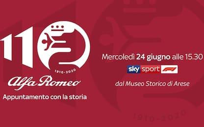 Alfa Romeo, 110 anni: l'evento live su Sky Sport