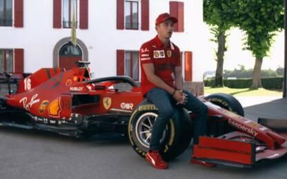 """Leclerc: """"Ora più 'aggressivo'. Seb? L'ho sentito"""""""