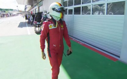 "Vettel: ""Poca fiducia, soliti problemi"". VIDEO"