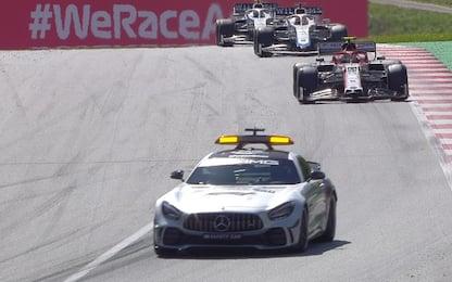 Tre safety car, nove ritiri: tutti i numeri del GP