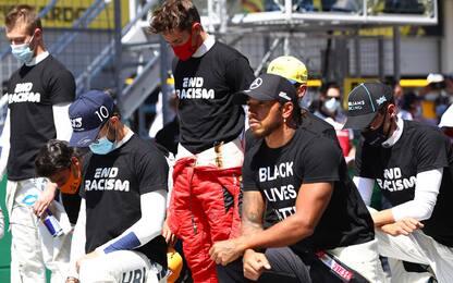 """Leclerc: """"Contro il razzismo ma non m'inginocchio"""""""