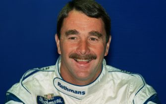 28 JUN 1994:  NIGEL MANSELL OF GREAT BRITAIN GIVES A PRESS CONFERENCE AT BRANDS HATCH DURING TESTING OF THE WILLIAMS/RENAULT CAR. MANSELL IS DUE TO MAKE HIS FORMULA ONE COMEBACK AT THE FRENCH GRAND PRIX.  MANSELL WILL RACE FORMULA ONE WHEN IT DOES NOT CONFLICT WITH THE INDY CART CIRCUIT. Mandatory Credit: Mike Cooper/ALLSPORT