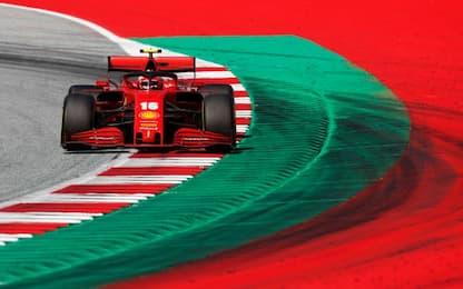 """Ferrari, """"capitan Leclerc"""" tiene alto il morale"""