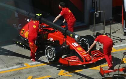 Novità Ferrari, dopo il fondo l'ala posteriore?