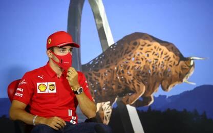 """Leclerc: """"Aggiornamenti, buone sensazioni"""""""