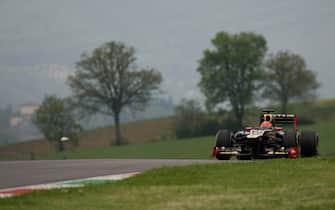 Romain Grosjean (FRA) Lotus E20. Formula One Testing, Mugello, Italy, Day Three, 3 May 2012.