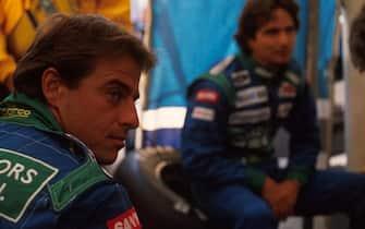 Alessandro Nannini(I), Benetton B190, DNF Hungarian GP, Budapest, Hungary, 12 August 1990