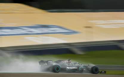 Pole Hamilton, Leclerc retrocesso di 3 posizioni