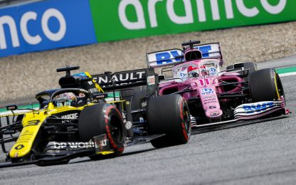 Renault, protesta contro le due Racing Point