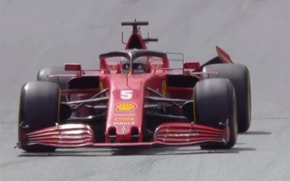Vettel-Leclerc, l'incidente allo Spielberg. VIDEO