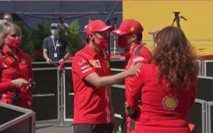 """Leclerc: """"Colpa mia, già scusato con Vettel"""""""