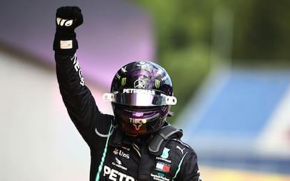 GP Stiria, vince Hamilton. Doppietta Mercedes