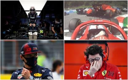 """Hamilton torna re, """"rosso"""" per Leclerc: le pagelle"""