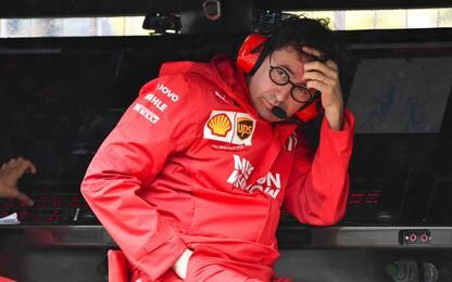 Ferrari, la solitudine di Binotto