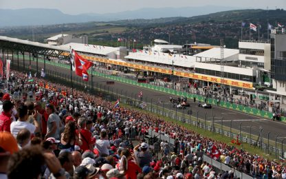 Il GP di Ungheria su Sky Sport: guida tv