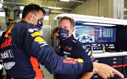 """Horner difende Albon: """"In F1 memoria corta"""""""