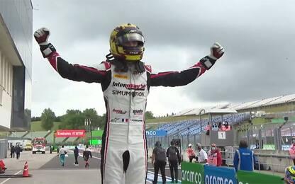 Formula 3, trionfo per Pourchaire in Race 1