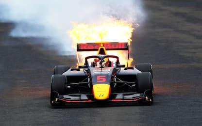 F3, paura Budapest: fiamme sulla Hitech di Lawson