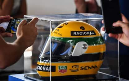 Asti, rubano cimeli Ayrton Senna: due arresti