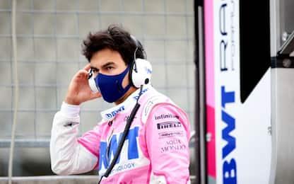 Perez negativo al Covid: torna per il GP Spagna