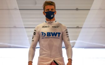 SILVERSTONE, UNITED KINGDOM - AUGUST 01: Nico Hulkenberg, Racing Point during the British GP at Silverstone on Saturday August 01, 2020 in Northamptonshire, United Kingdom.