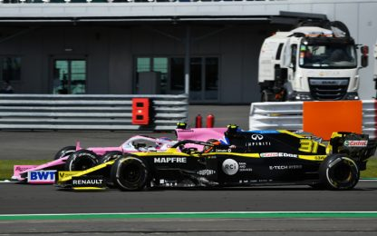Renault, altra protesta contro la Racing Point