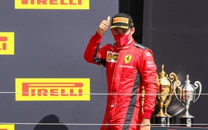 """Leclerc: """"Fortunati, ma ottima gestione di gomme"""""""