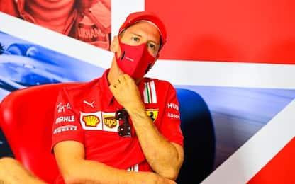 """Vettel: """"Ho tante possibilità, senza stress"""""""