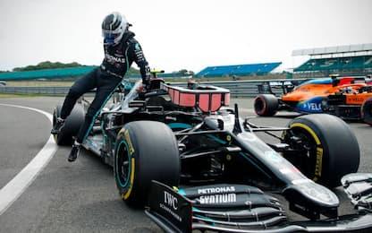 Bottas in pole. Leclerc 8°, Vettel out nel Q2