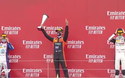 Viscaal vince la Sprint Race di F3, beffa Zendeli