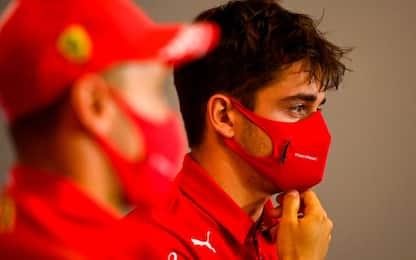 """Leclerc: """"Migliorato nella gestione gomme"""""""