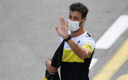 Ricciardo scommette: podio e farà fare un tattoo