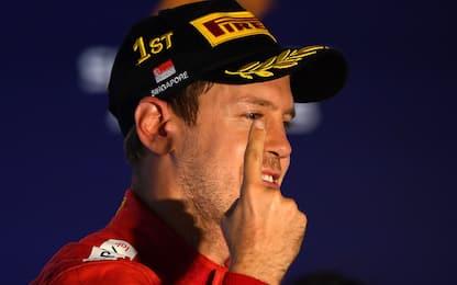 Vettel, le magie di un grande campione. VIDEO